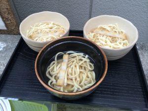 Okinawa soba noodle