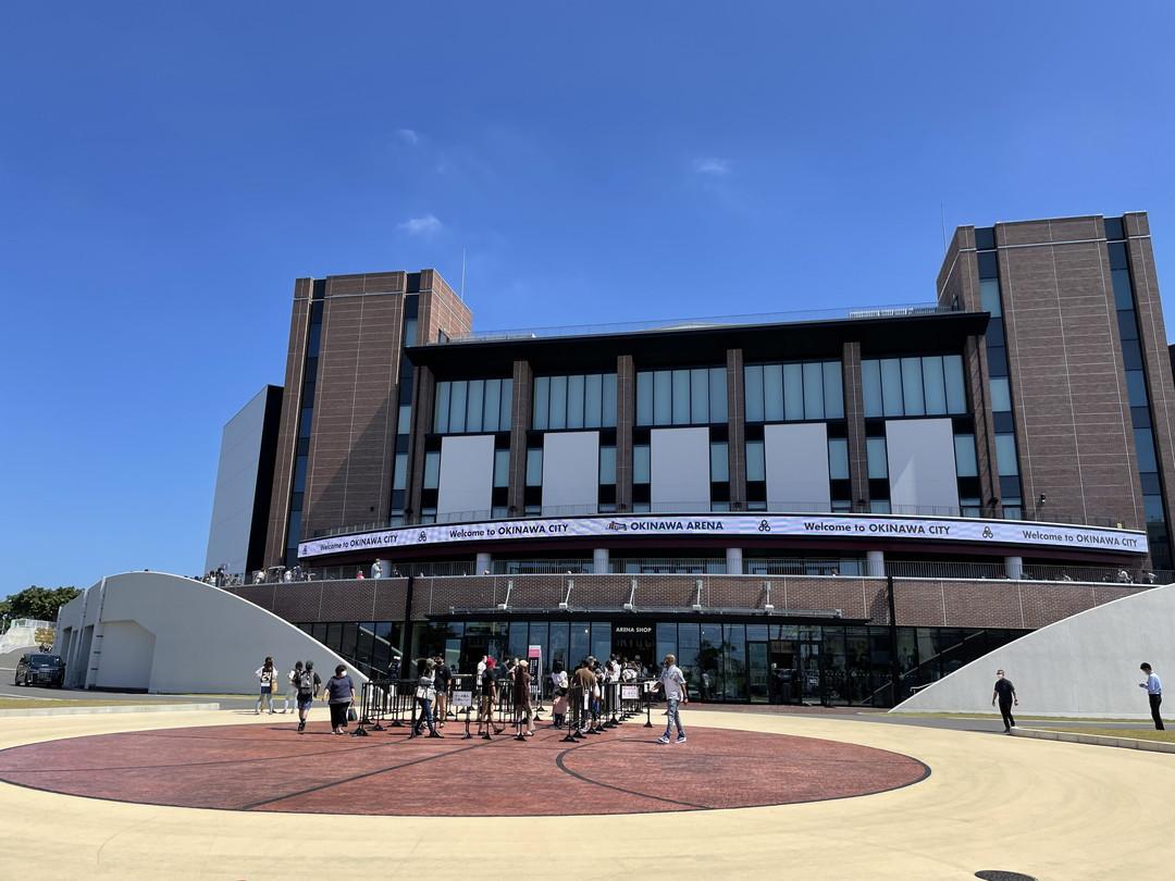 沖縄アリーナに潜入!プロバスケBリーグ、21-22シーズン開幕。